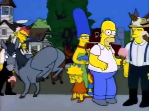 Los Simpsons _ un niño tiburón