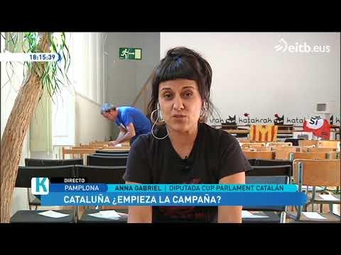 Anna Gabriel, sobre las pintadas amenazantes y el referéndum