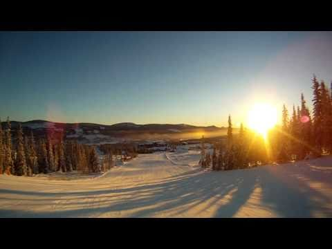 Trysil Cam The sun is up time to ski  Slope 15 Norway