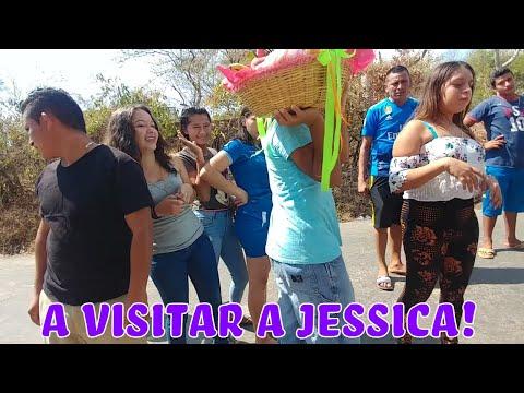 Quien es el padre de Monica Mundo Peludo? El Gallo! Visita a Jessica despues de la operacion.Parte 1