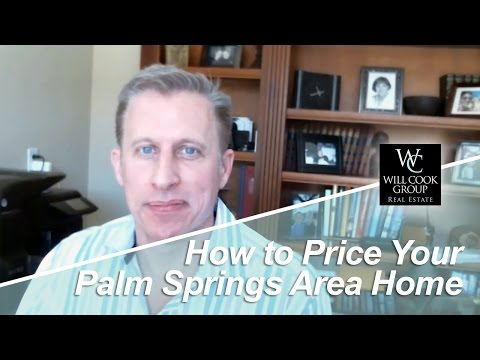 Palm Springs Real Estate Agent: Appropriate Home pricing is the Key to Selling
