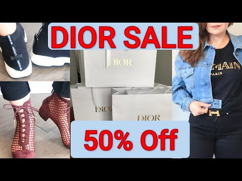 DIOR 50% Off Sale | Moschino Sale | OxanaLV