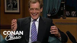 "David Letterman On ""Late Night With Conan O'Brien"" 02/28/94"