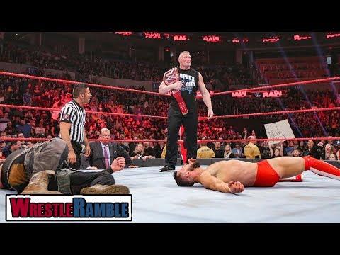 Finn Balor - Do We Believe In Him?! WWE Raw, Jan. 21, 2019 Review | WrestleTalk's WrestleRamble