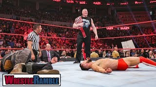 wwe raw highlights