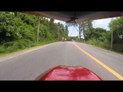 little drive around phuket on my kawasaki ninja 650r