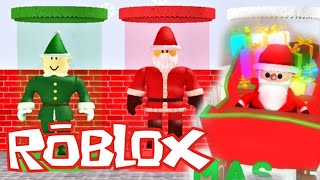 🎅Christmas Tycoon In Roblox - Building The Biggest SANTA SNOW HOUSE!