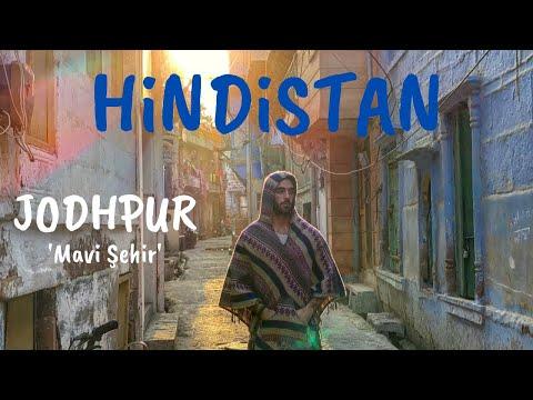 HİNDİSTAN ZORLU Otobüs Yolculuğu Ve Mavi Şehir - Jodhpur