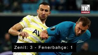 Zenit Fenerbahçe maçı özeti ve golleri izle