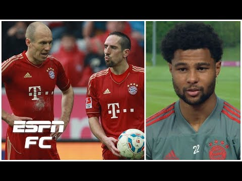 I used to watch Bayern Munich's Arjen Robben & Franck Ribery on YouTube - Serge Gnabry | Bundesliga
