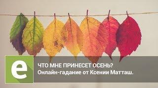 Что мне принесет осень? Онлайн-гадание на LiveExpert.ru от эксперта Ксении Матташ