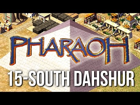 Pharaoh ► Mission 15 South Dahshur - [1080p Widescreen] - Let's Play Game