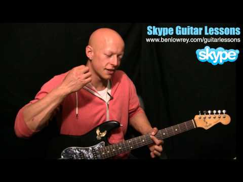 How To Play 'Get Lucky' By Daft Punk And Pharrell Williams On Guitar