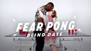 Blind Dates Play Fear Pong (Jim & Sarah) | Fear Pong | Cut