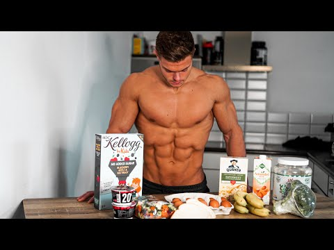 HOW I STAY SHREDDED YEAR ROUND | Full Day of Eating