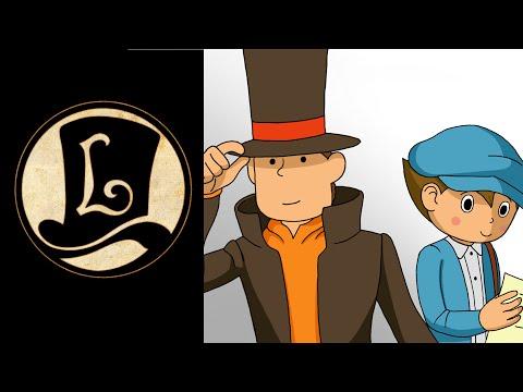 [LC] Speed Art: Prof. Layton & Luke