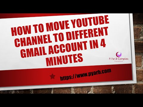 How to Move  channel to New Account Under 4 minute without loosing content