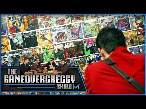 Will Comic Books Be Around Forever? - The GameOvergreggy Show Ep. 140 (Pt. 2)