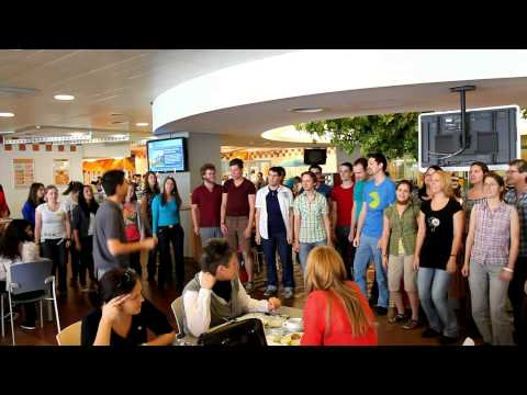 """Call Me Maybe"" Flashmob - TU Chor - Mensa TU Wien"