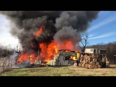 The big barn fire