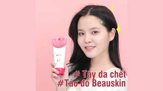 Tẩy da chết Hàn Quốc Beauskin White Apple Peeling Gel