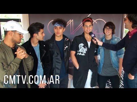"""CNCO - """"Nos gustaría entrar a caballo"""" (Entrevista Argentina 2017)"""
