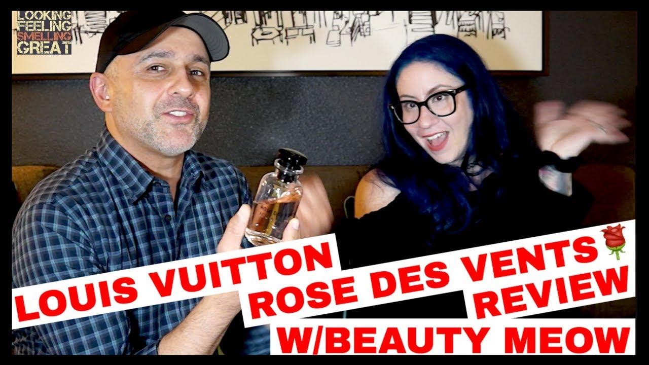 3e36a9428c50 Louis Vuitton Rose Des Vents Review W  Beauty Meow + Win 5ml Decant 🌹💦