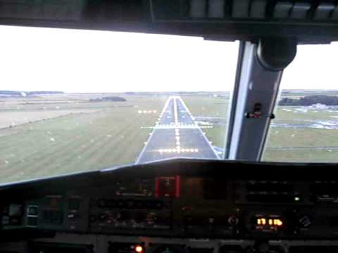 Jetstream 41 Landing Circuits Humberside