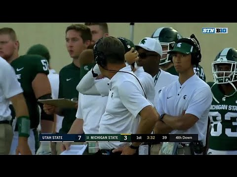 Utah State vs. Michigan State: Top 3 Plays from the First Quarter