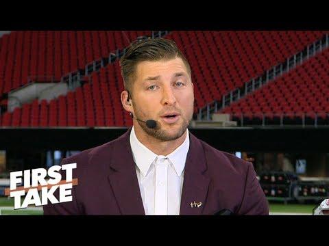 Tim Tebow's advice on how Georgia can beat Alabama | First Take
