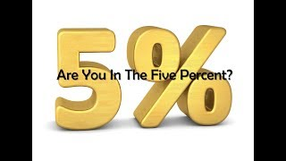 Are You In The Five Percent?