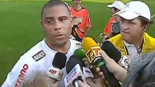 Ronaldo Encoxada do Reporter