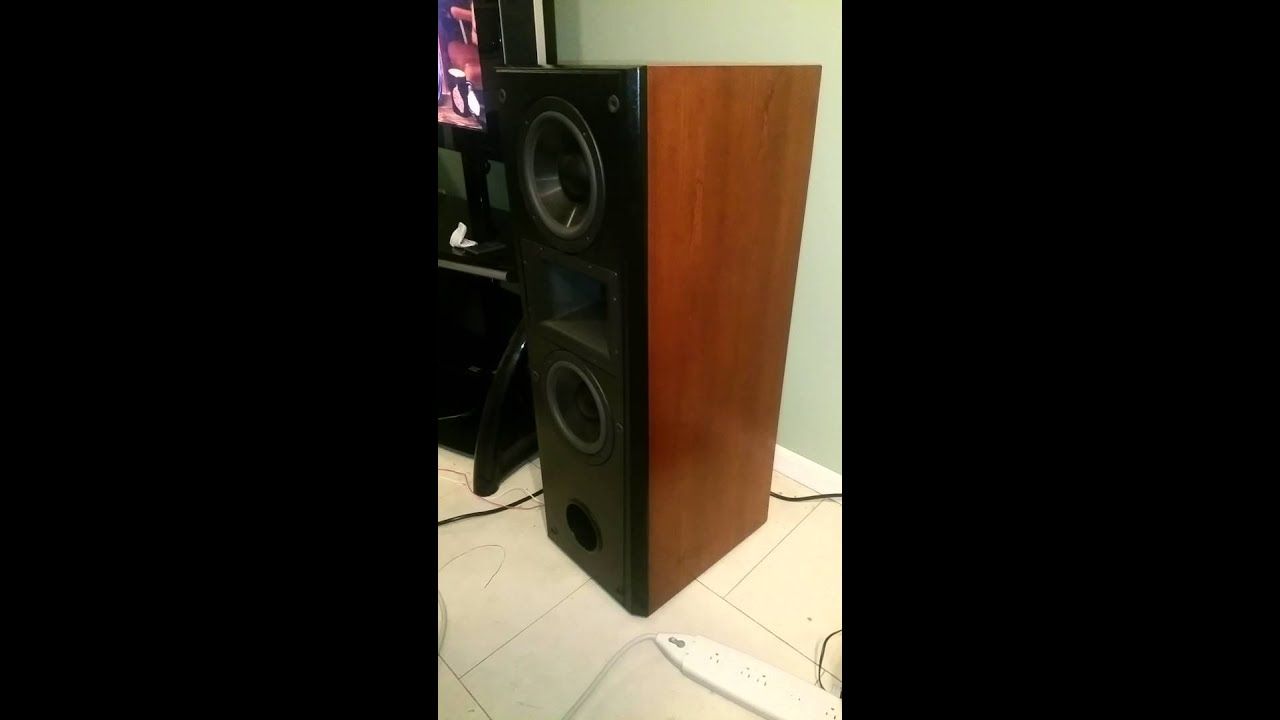 Epic Youtube Comment By Elson: Refinished Klipsch Epic Cf-2