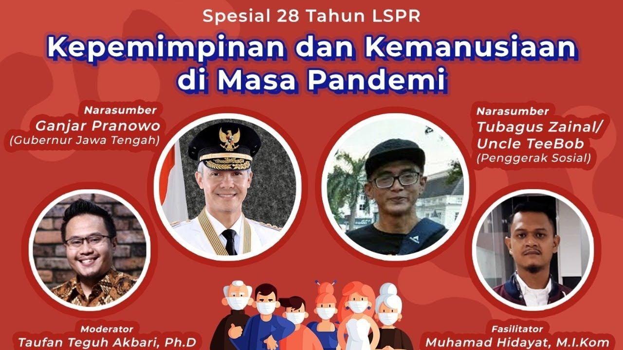 LSPR Rescue Webinar: Kepemimipinan dan Kemanusiaan di Masa Pandemi