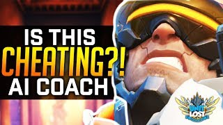 Overwatch - Is This CHEATING?! AI *Hack* Ultimate Tracking with Visor