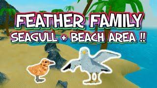 Roblox pena família gaivota + praia UPDATE!!