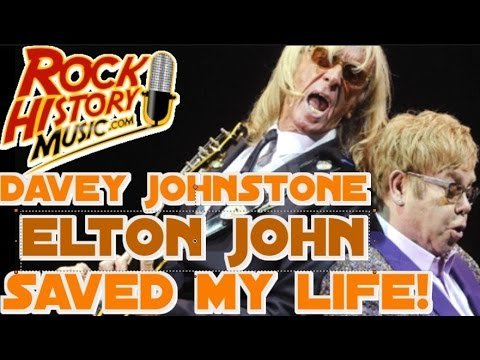 Guitarist Davey Johnstone Says Elton John Saved His Life