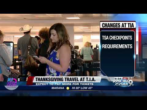 How to be better prepared for Thanksgiving travel at Tucson International