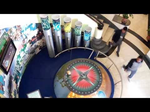 ONGC main Entrance the Pendulum Oil and Natural Gas Corporation