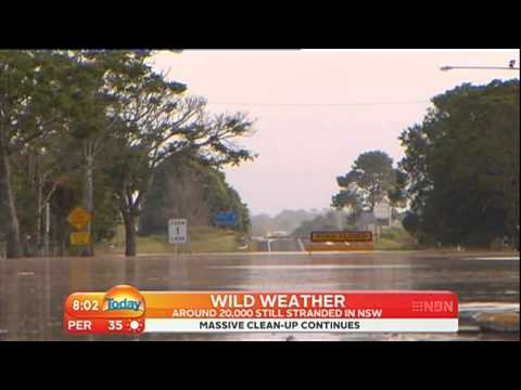 9 Weekend Today Feb 2013 NSW North Coast Flood