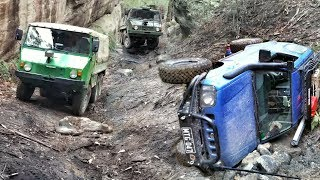 6x6 - 4x4 @ Mt Airly - Including 2 Roll Overs - Featuring Pinzgauer 6wd & Perentie 4wd