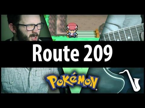 ROUTE 209 JAZZ - Pokémon D/P/Pt Jazz Cover / Remix by insaneintherainmusic (feat. Ryan Lafford)