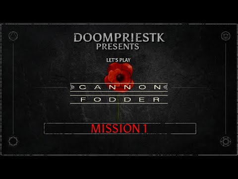 Let's Play Cannon Fodder - Mission 1 - The Sensible Initiation [PC 60FPS HD]