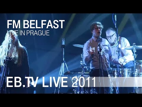 FM BELFAST live in Prague (2011)