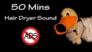 Hair Dryer Sound 56 | 50 Mins Binaural Recording | Lullaby to Sleep