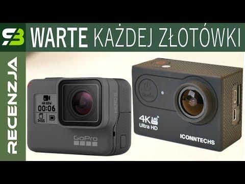 Kamera Iconntechs za 330 zł kontra GoPro Hero 6 za 1600 zł. Test