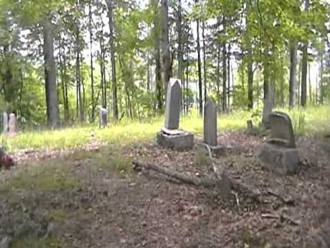 Daytime view of Gates of Hell, Kasey's Cemetary-Elizabethtown, KY.
