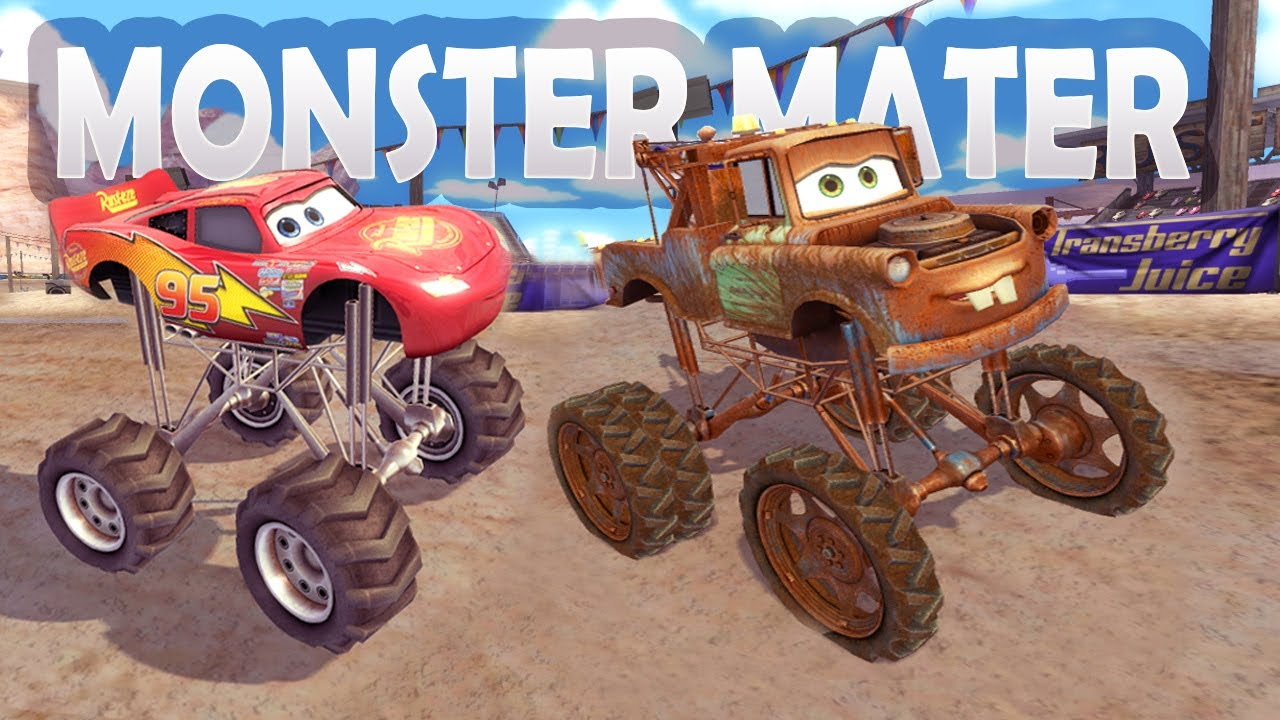 You can't Control Monster Mater / Cars