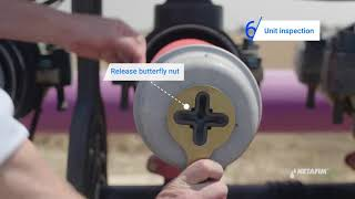 Netafim: Disc Filters - How to Fix High Differential Pressure