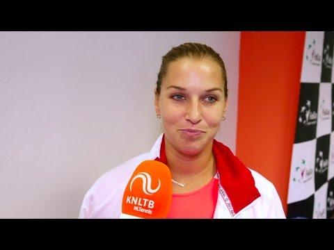 Interview Dominika Cibulková over blessure